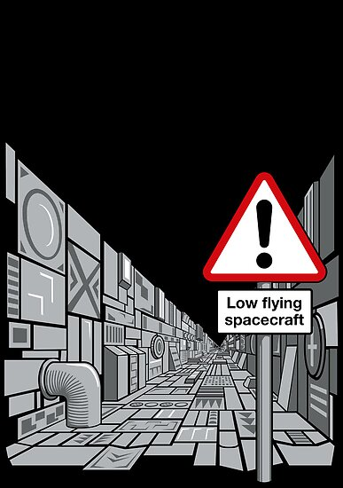 Low Flying Spacecraft by DoodleDojo