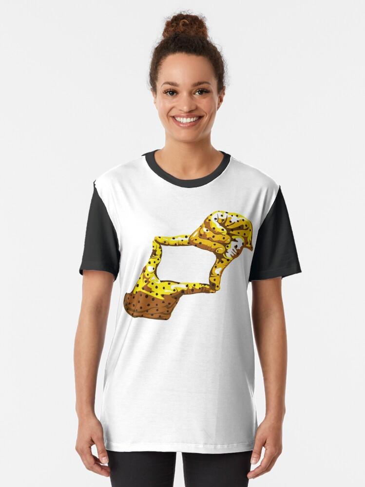 Alternate view of Boxfish Hand Signal Graphic T-Shirt