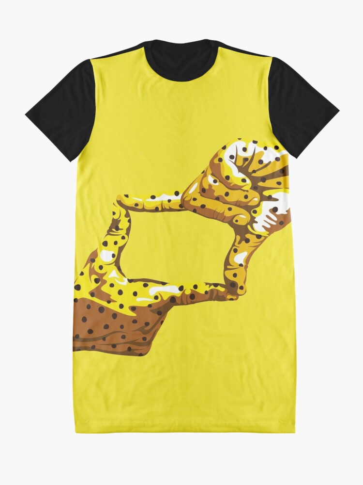 Alternate view of Boxfish Hand Signal Graphic T-Shirt Dress