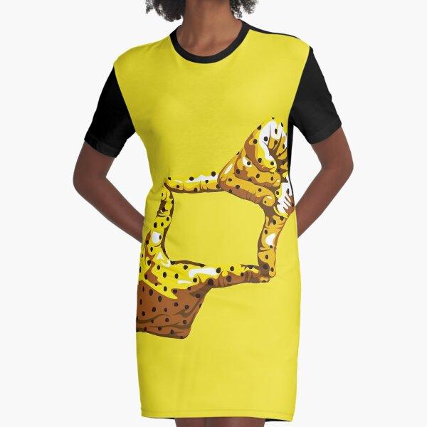 Boxfish Hand Signal Graphic T-Shirt Dress