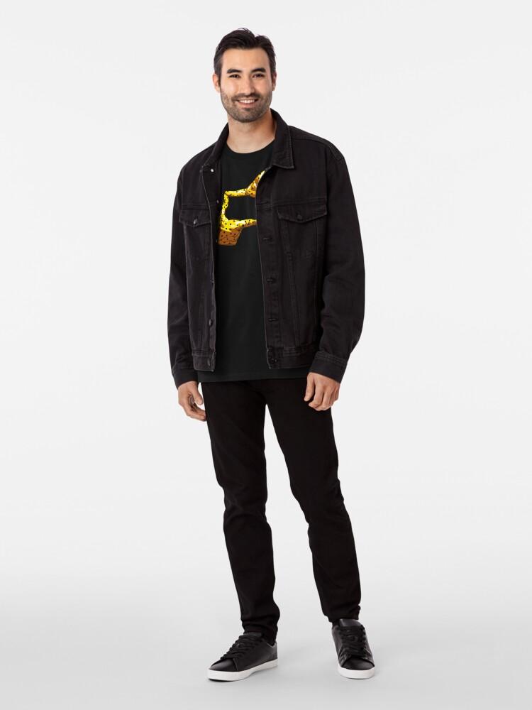 Alternate view of Boxfish Hand Signal Premium T-Shirt