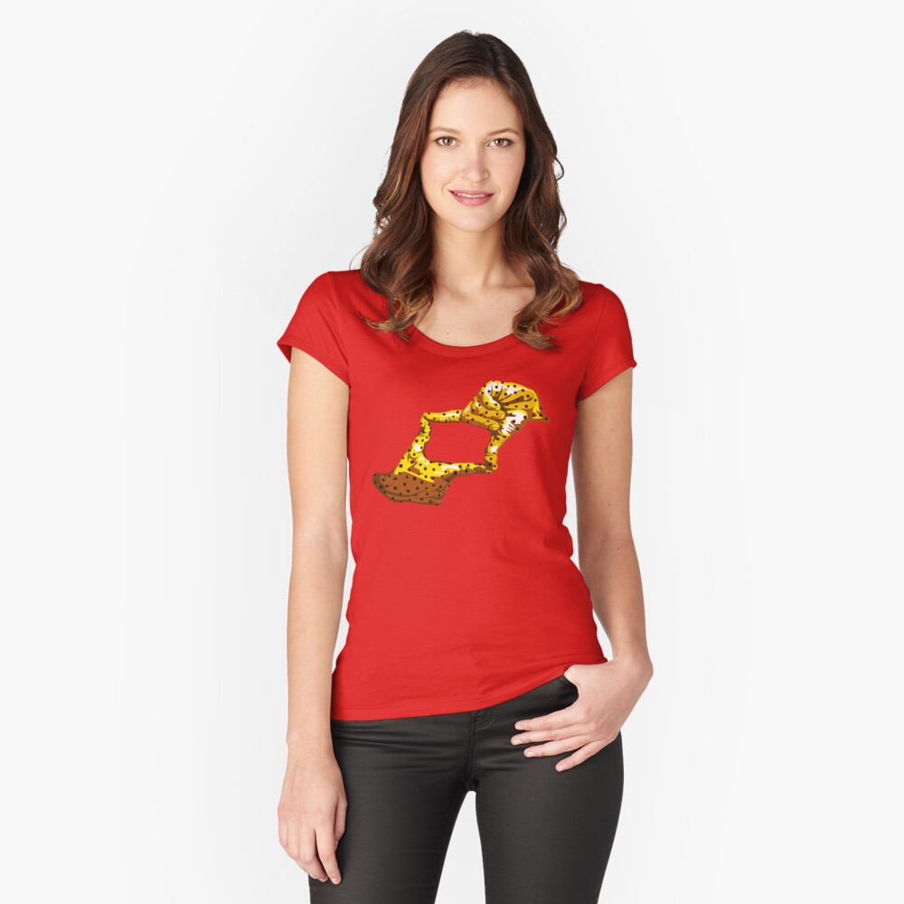 Boxfish Hand Signal Fitted Scoop T-Shirt