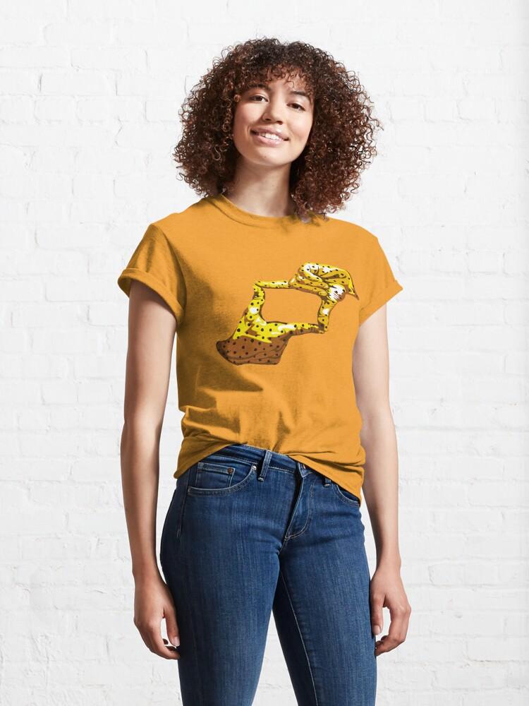 Alternate view of Boxfish Hand Signal Classic T-Shirt
