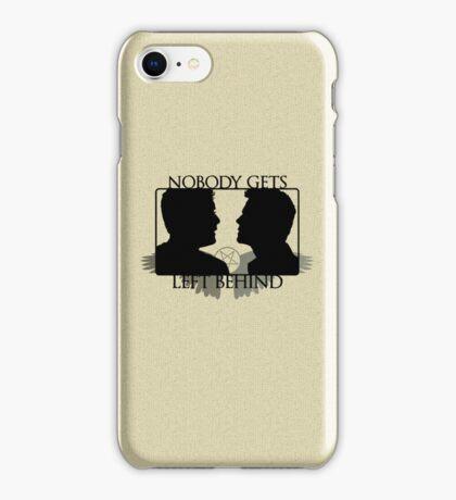 Nobody Gets Left Behind iPhone Case/Skin