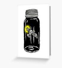 Unusual Firefly Greeting Card