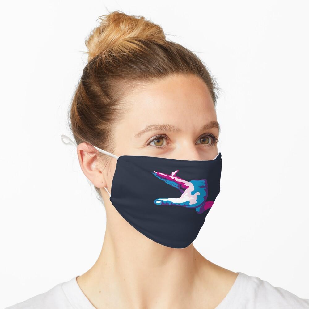 Moray Eel Hand Signal Mask