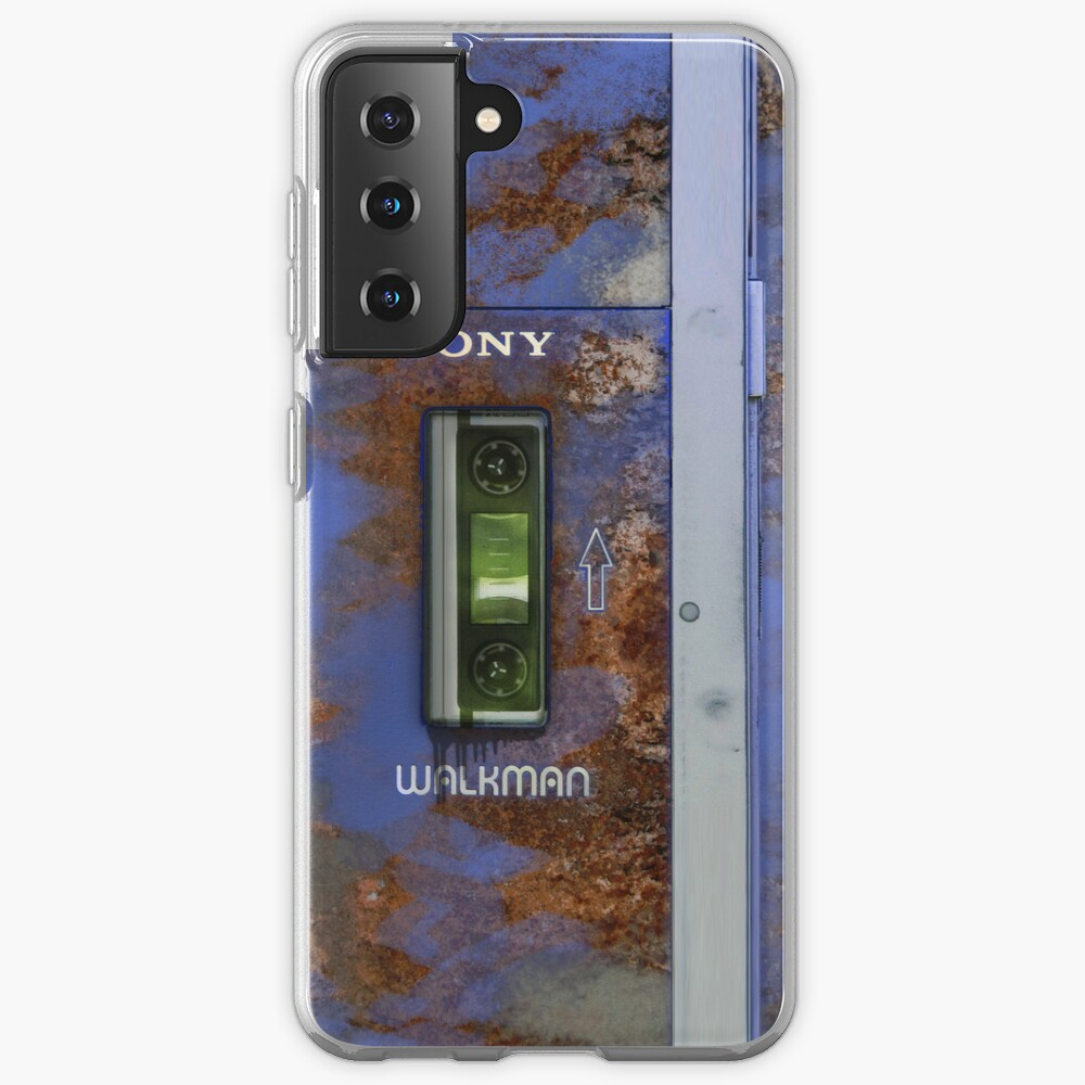 Extremely old and distressed walkman Case & Skin for Samsung Galaxy