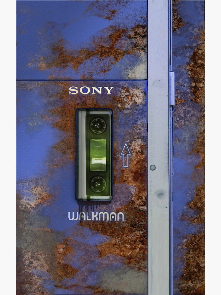 Extremely old and distressed walkman by Confundo