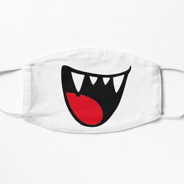 Retro video game boo ghost facemask  Mask