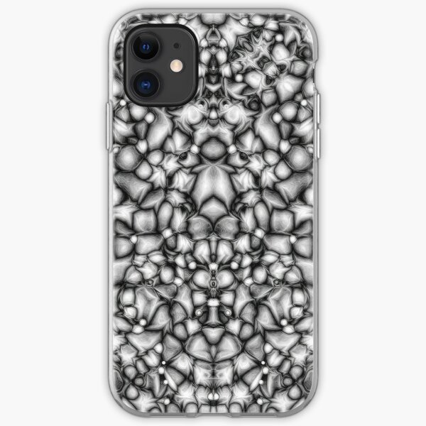Black And White Abstract iPhone Soft Case