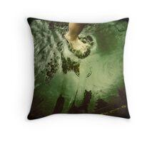 Gutter Play Throw Pillow