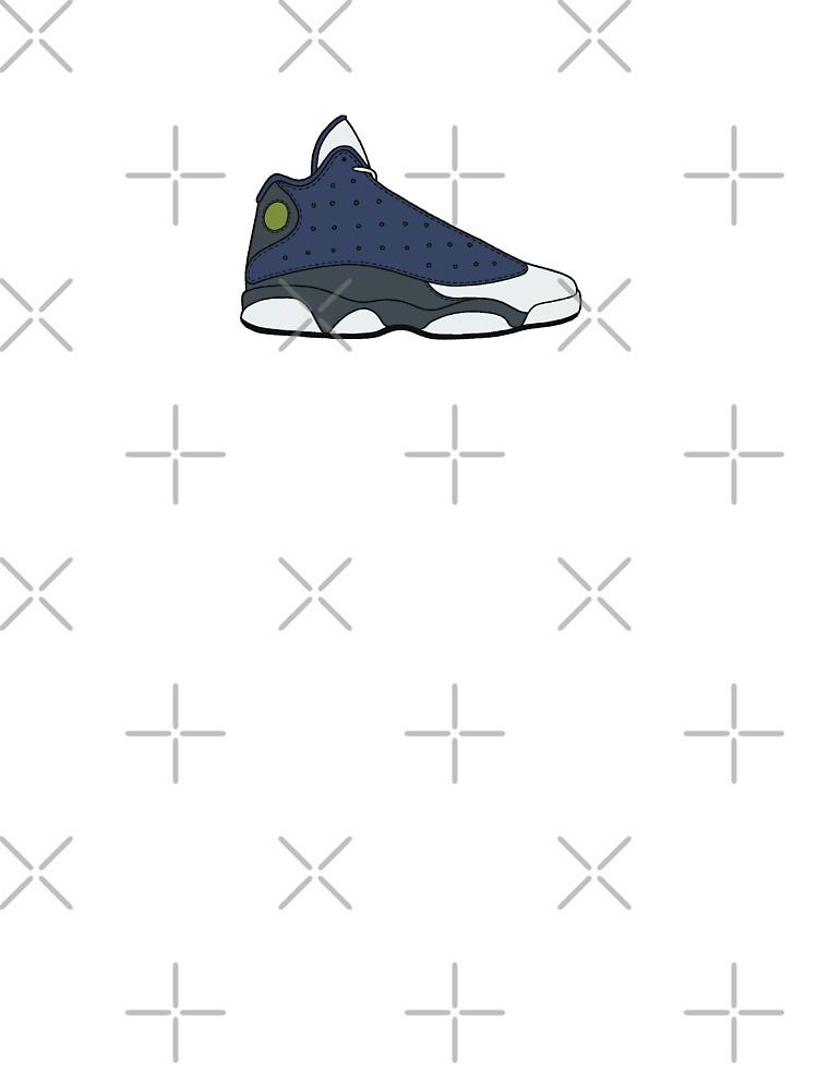 Air Jordan Xiii 13 Flint Kids T Shirt By Gaeldesmarais