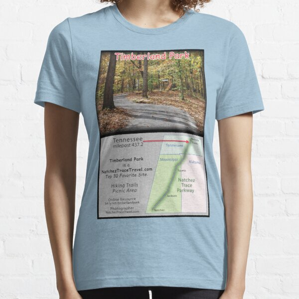 Timberland Park (fall) on the Natchez Trace Parkway. Essential T-Shirt