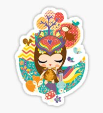 Deep in the forest - Nimi Collection Sticker