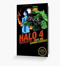 Retro Sci-Fi Shooter Case Greeting Card