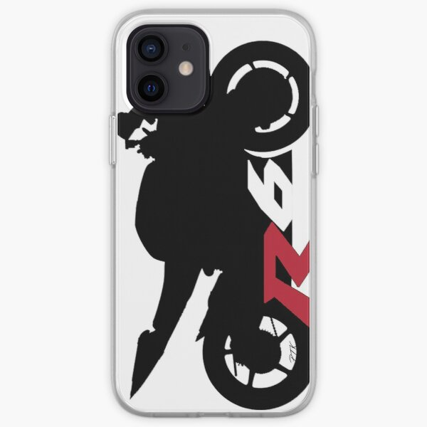 Yamaha R6 Silhouette Coque souple iPhone