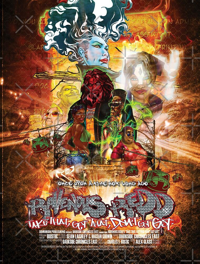 Ravenous Redd Production Poster by Dominion Publishing Enterprises