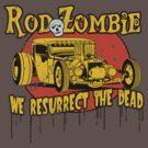 Rod Zombie (distressed) by Steve Harvey