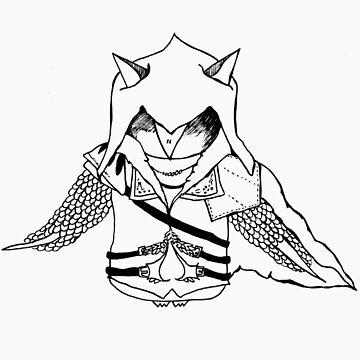 Ezio Owldetore by annieclayton