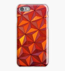Geometric Epcot iPhone Case/Skin