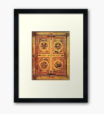 Page from the Book of Kells 3 Framed Print