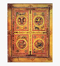 Page from the Book of Kells 3 Photographic Print