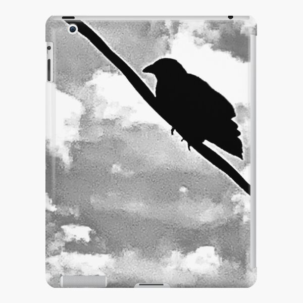 Crow On A Wire iPad Snap Case