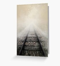 Heading to unknown Greeting Card