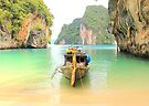Longtail Boat - Hong Islands - Thailand by Honor Kyne
