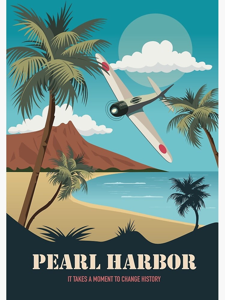 Pearl Harbor - Alternative Movie Poster by MoviePosterBoy