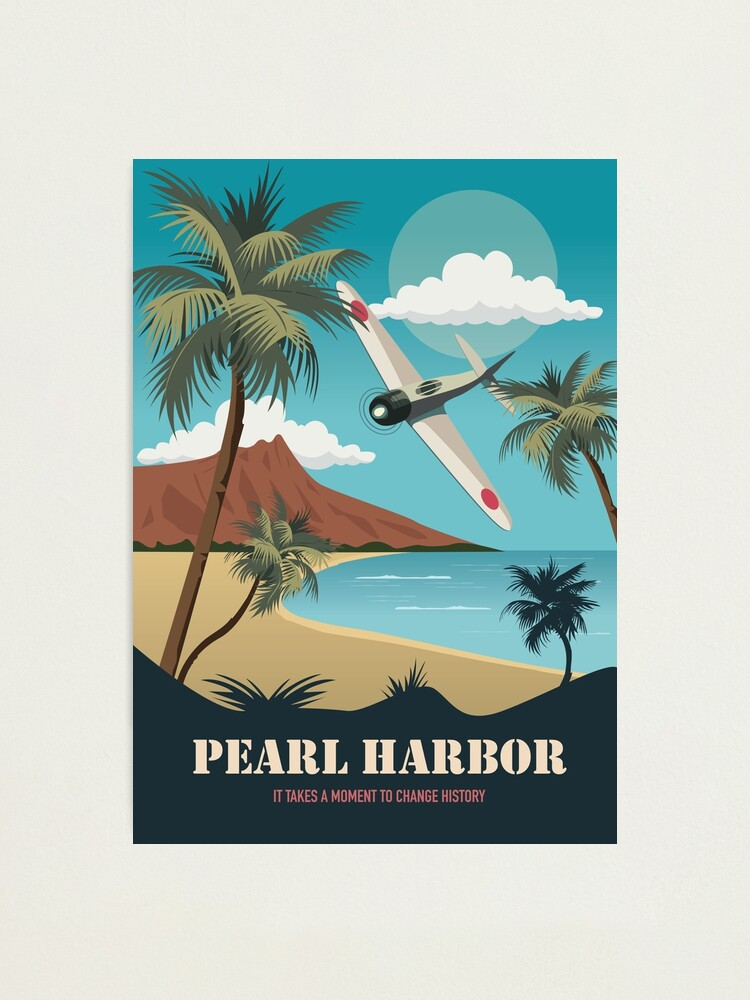 Alternate view of Pearl Harbor - Alternative Movie Poster Photographic Print