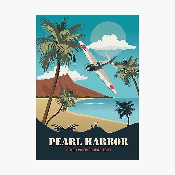 Pearl Harbor - Alternative Movie Poster Photographic Print