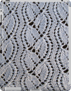 Dayflower knitted lace by knititude