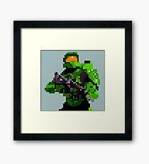 16-bit Spartan Framed Print