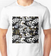 cubist zebra texture Unisex T-Shirt
