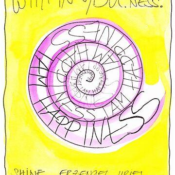 Manifesto »I AM HAPPINESS« von AngelArt444