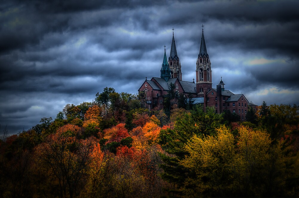 Quot Haunted Holy Hill Quot By Brett Perucco Redbubble