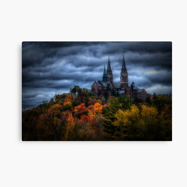 Haunted Holy Hill Canvas Print