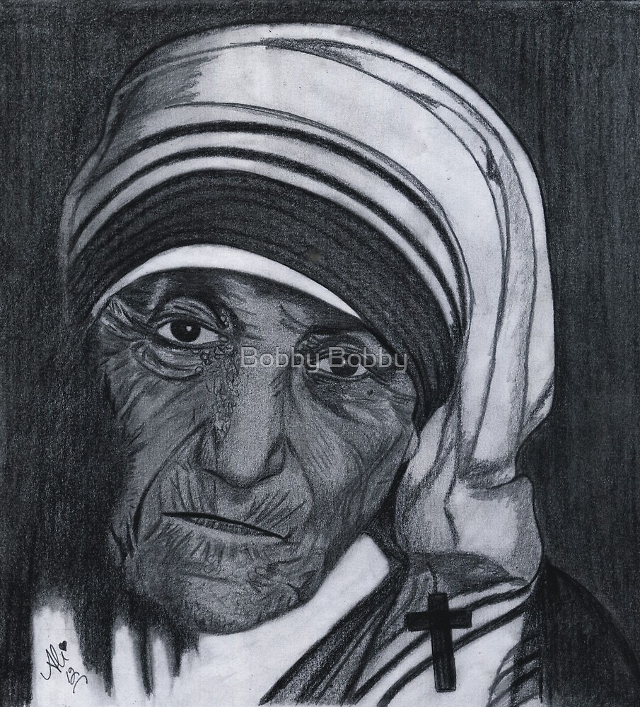 Mother Teresa by Bobby Dar