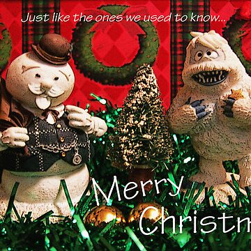 Christmas Snowman and Yeti by DwCCreations