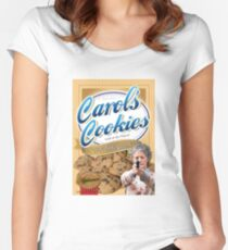 Famous Carol's Cookies Women's Fitted Scoop T-Shirt