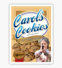 Famous Carol's Cookies Sticker