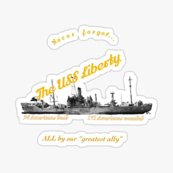 USS Liberty Sticker