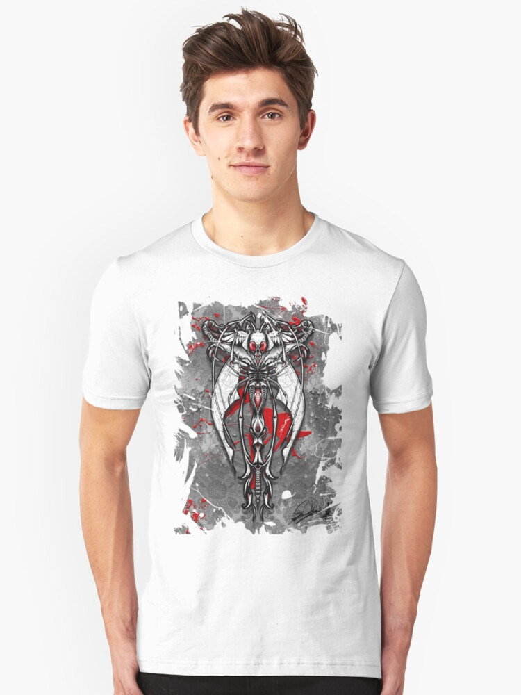 dragonfly in the darkness Unisex T-Shirt Front
