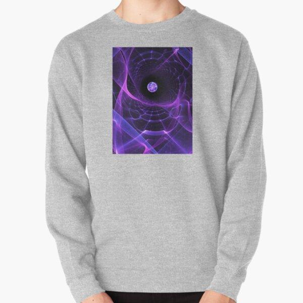 Wormhole - Fractal Alien Scifi Scene  Pullover Sweatshirt