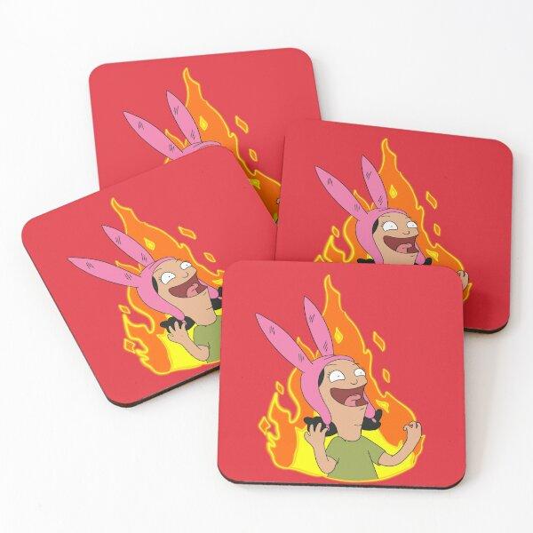 Louise  Coasters (Set of 4)