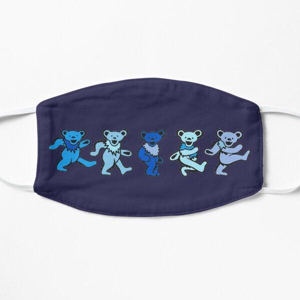 Blue Bears Flat Mask
