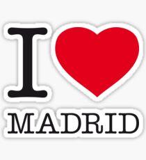 I ♥ MADRID Sticker