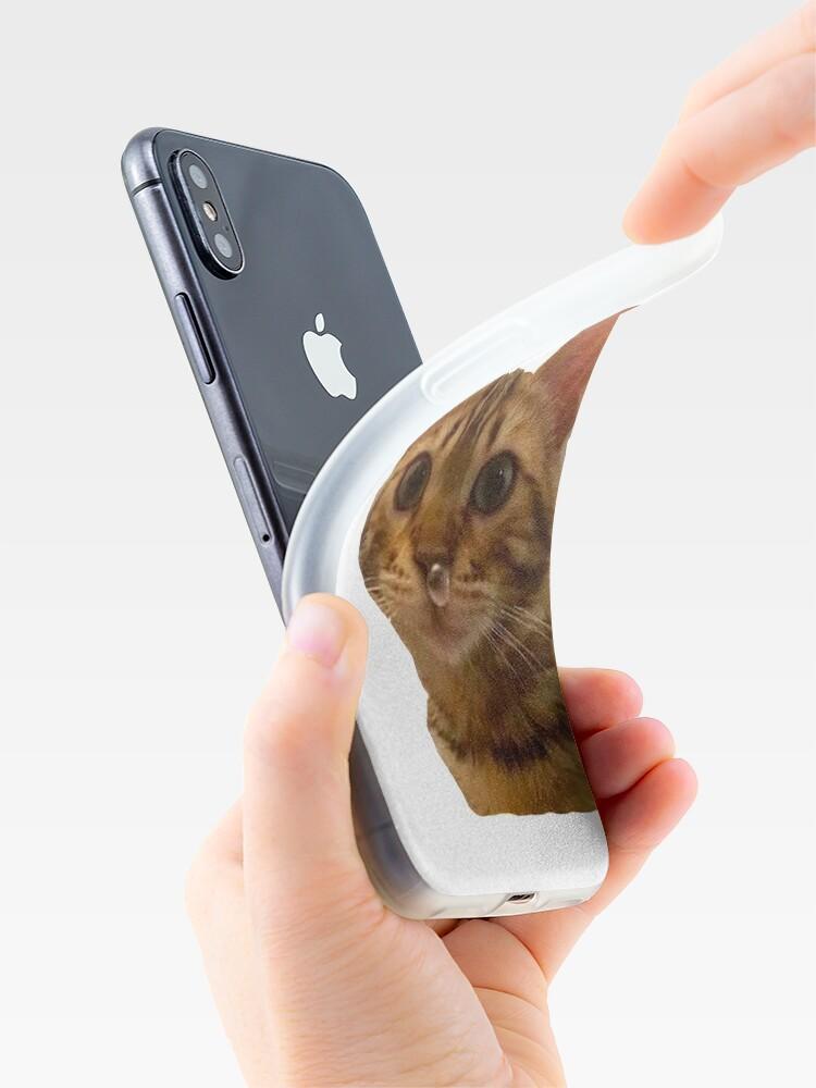Vista alternativa de Funda y vinilo para iPhone Haz tu día más feliz