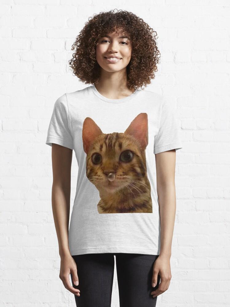 Vista alternativa de Camiseta esencial Haz tu día más feliz